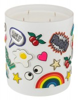 Anya Smells! All Over Sticker XL Candle Chewinг Gum, Комнатная свеча 2200 г